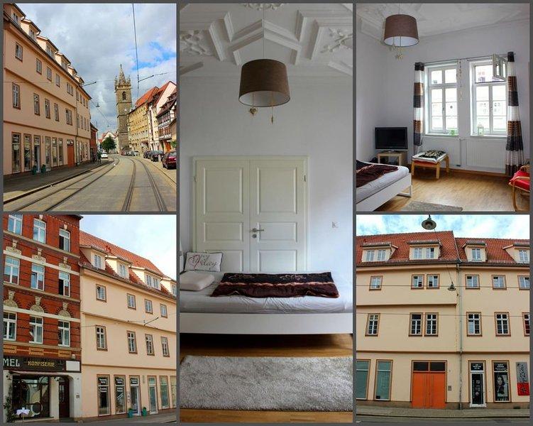 Tolle Altstadt-Wohnung in denkmalgeschützem Haus, vacation rental in Erfurt