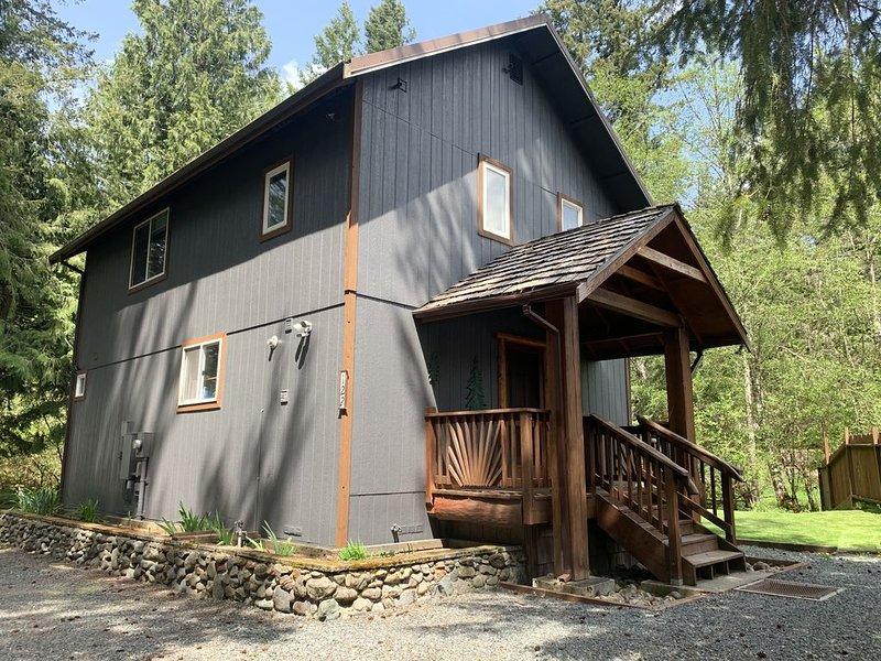 Little Creek Cabin near Mt Rainier, holiday rental in Elbe
