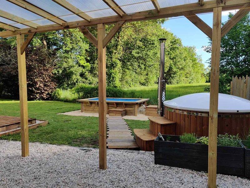 Maison de vacances au coeur du vignoble AOC Chinon, aluguéis de temporada em Varennes sur Loire