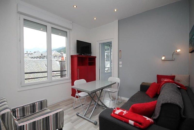 BEAU T2 AU CENTRE DU MONT DORE EXP SUD AVEC BELLE VUE - WIFI LIMITEE, holiday rental in Le Mont-Dore