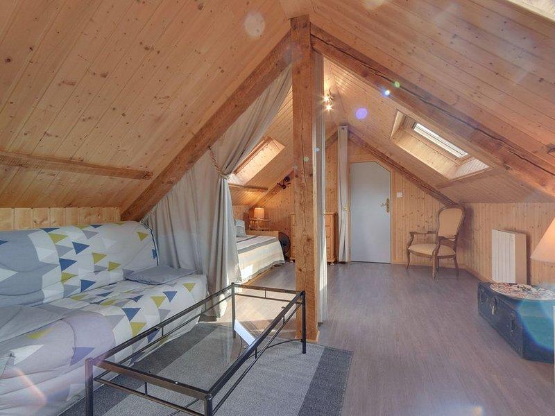La Bourboule centre, agréable appartement 2 pièces, wifi, 4 personnes, holiday rental in La Tour-d'Auvergne