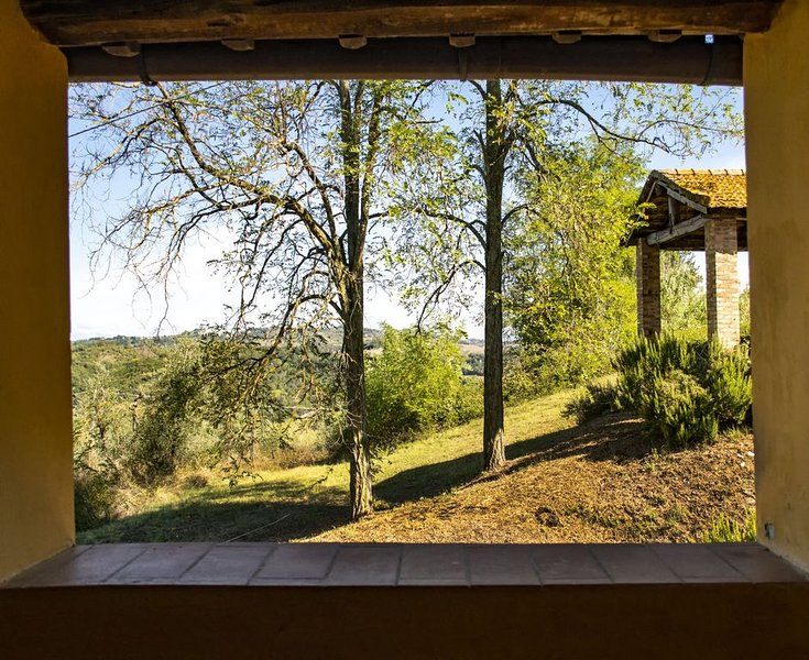 Collines toscanes - architectes paysagistes SANTA GIULIA, vacation rental in Ghizzano