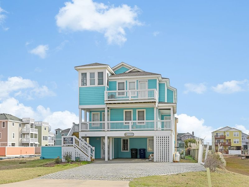 STEAM CLEANED B/T RENTALS - EASY PACKING- beach towels &  toys & chairs INCLUDED, location de vacances à Nags Head