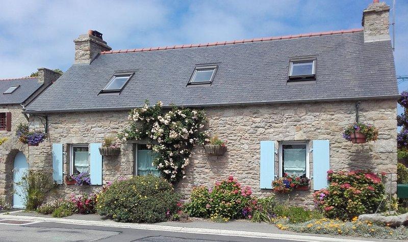 Chamante maison Bretonne, situé à 350 m des plages des Abers, holiday rental in Plouguerneau