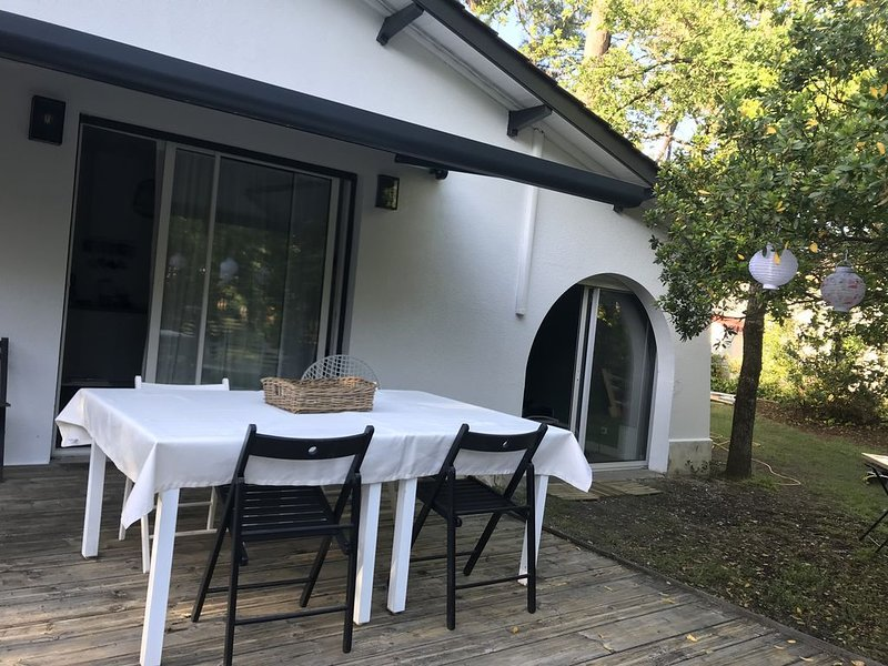 Villa en bord de plage, alquiler de vacaciones en Montalivet