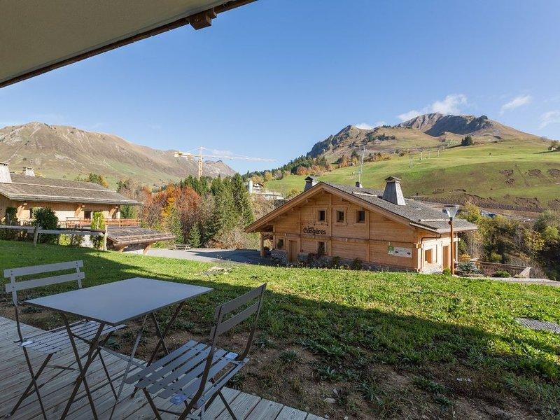 Almet 5 Chamois - Grand confort et Vue - Chinaillon Centre, casa vacanza a Le Grand-Bornand
