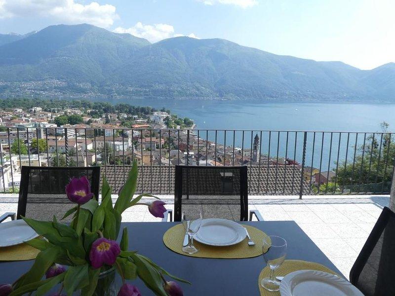 Ferienwohnung Ascona für 4 - 7 Personen mit 2 Schlafzimmern - Ferienwohnung, location de vacances à Avegno Gordevio