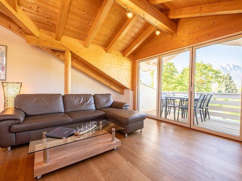 """Die Ferienwohnung """"Bergluft"""" in Garmisch-Partenkirchen mit 70 m² bietet einen tr, location de vacances à Garmisch-Partenkirchen"""