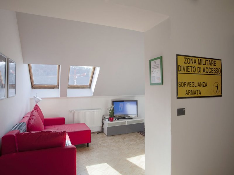 Roof apartment near city center, holiday rental in Prague