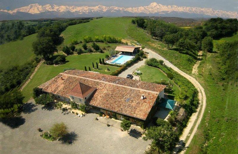 Sanctuaire La Garie : des vacances éthiques à la ferme, en Midi-Pyrénées, vakantiewoning in Simorre
