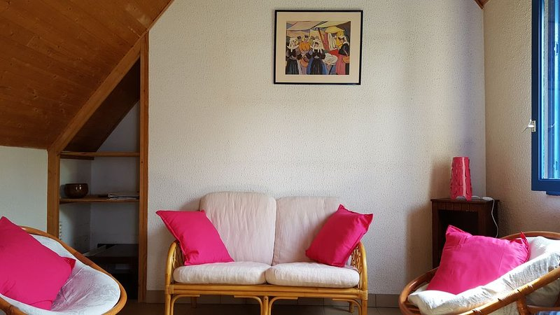 Port Manech Maison Blanche, holiday rental in Nevez