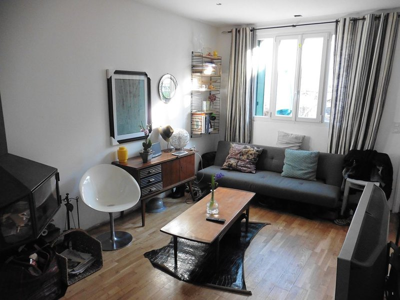 Home / house - Paris Buttes Chaumont, vacation rental in Bobigny