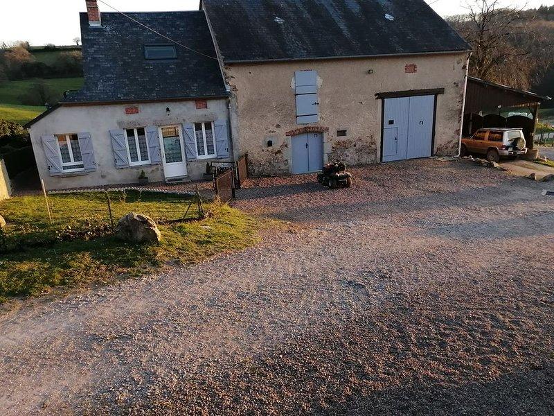 Gite a la ferme <<les vétos>>., holiday rental in Marigny-sur-Yonne