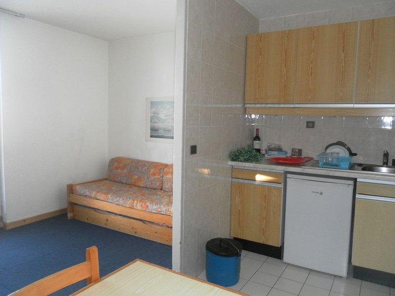 Ideal Family Ski in/Ski out Apartment on Slopes-Sleeps 5, holiday rental in Mizoen