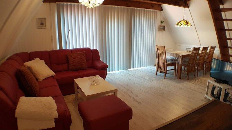 Schönes Ferienhaus am Twistesee im Ferienland Waldeck-Frankenberg, location de vacances à Twistetal