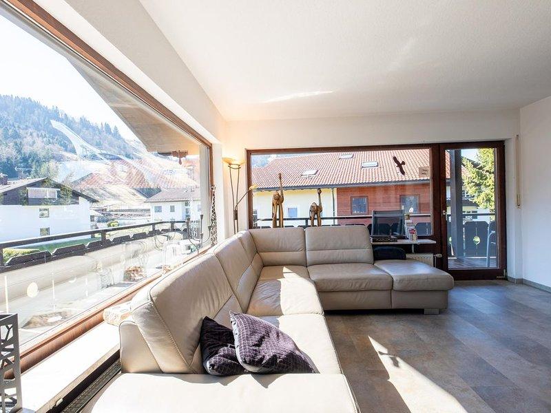 """Die Ferienwohnung """"Höhenflug"""" liegt in Garmisch-Partenkirchen direkt an der Skis, location de vacances à Garmisch-Partenkirchen"""