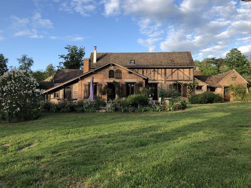 La Tuilette : maison en plein coeur de la Sologne / Chateau de la Loire, casa vacanza a Nouan-le-Fuzelier