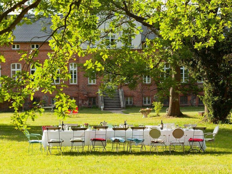 Gut Pohnstorf, Ferienwohnung Marie, holiday rental in Boddin