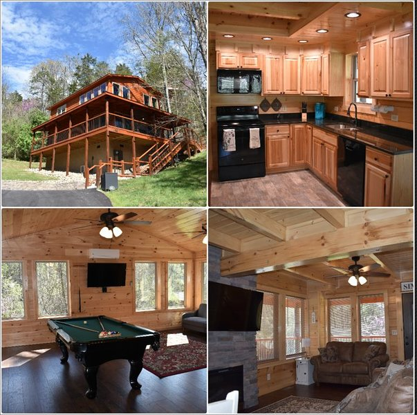 1 King Bed/1 Queen Bed - Pool Table - HotTub - WiFi - Easy Access, holiday rental in Pigeon Forge