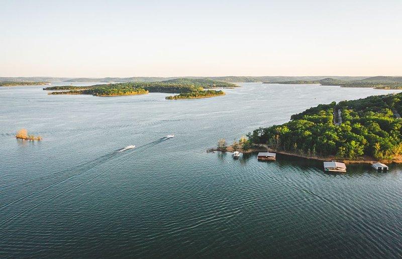 Lake Front , distance to Silver Dollar City, alquiler de vacaciones en Branson West