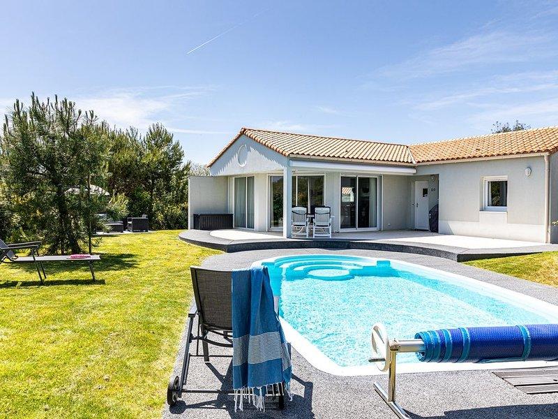 Villa 6 personnes avec piscine privée, alquiler vacacional en Château-d'Olonne