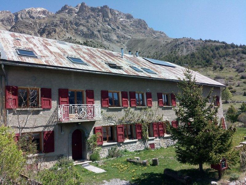 Location maison en montagne, location de vacances à Jausiers