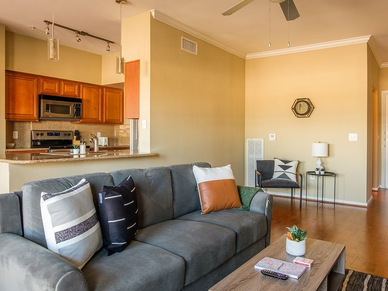 Modern and Spacious 2BR Apt, holiday rental in Houston