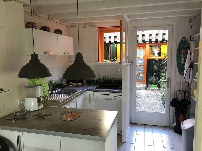Appartement en Rez de jardin, location de vacances à Claouey