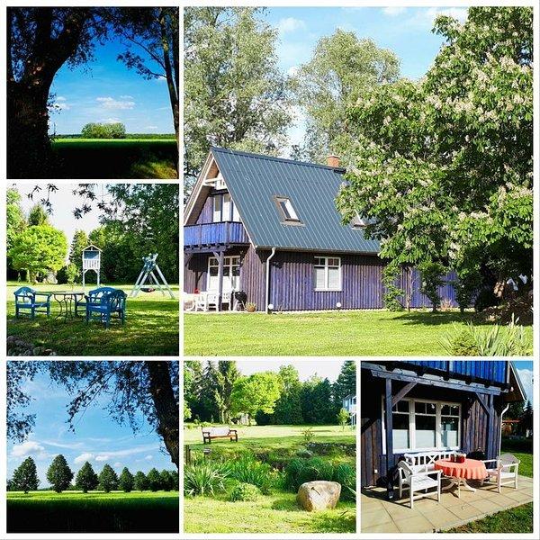 Blaues Häuschen - Oase der Ruhe  - Urlaub mit Pferd - Hülseburger Schlossreiter, alquiler vacacional en Schwerin