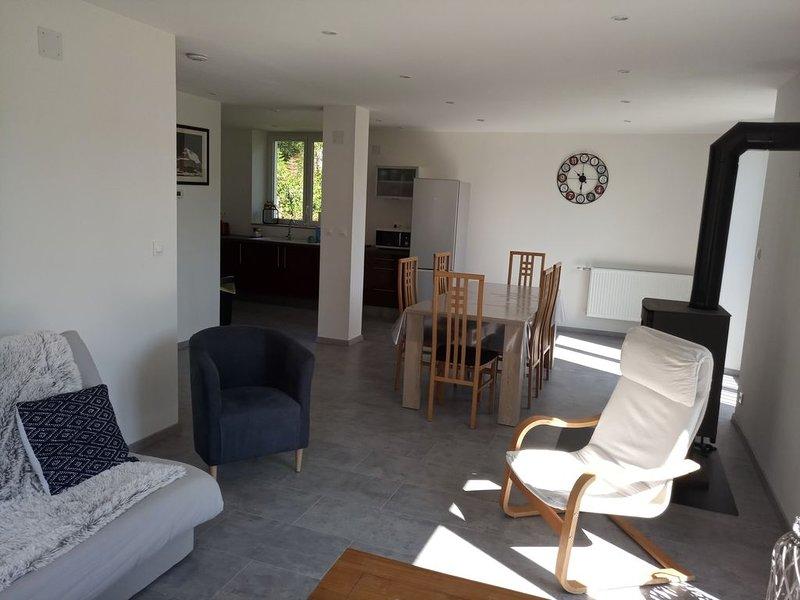 maison Vosges 110 m2 en pleine nature 'L'orée du bois', vacation rental in Autrey