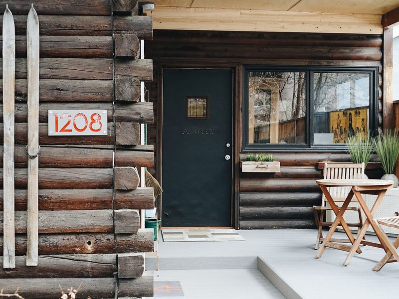 Modern Log Retreat With Sauna In The Historic North End Neighborhood, alquiler de vacaciones en Boise