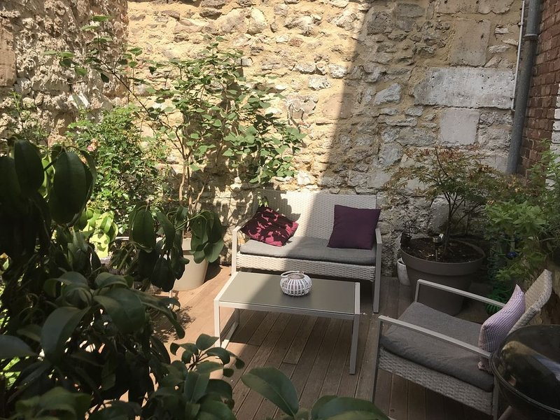 Charmante maison de ville au coeur de Senlis, aluguéis de temporada em Boran-sur-Oise