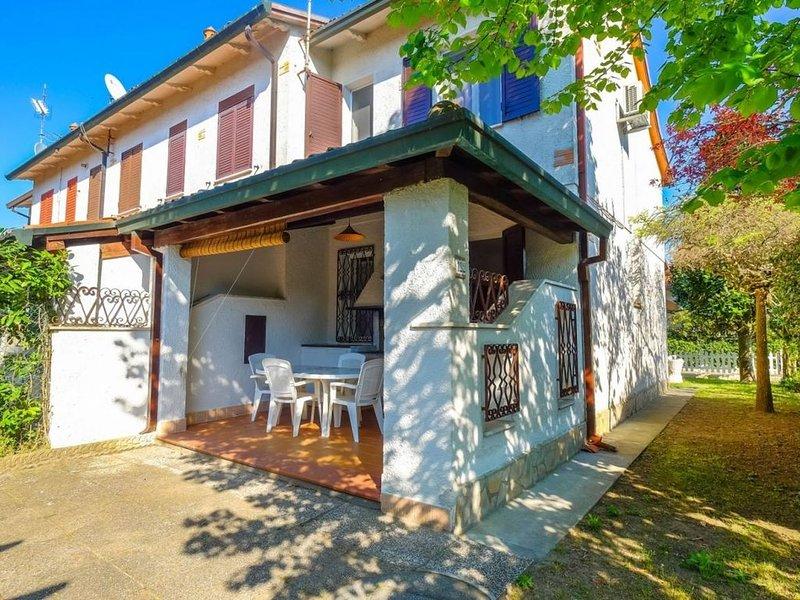 Spaziosa villetta con due camere matrimoniali, giardino e privato e clima, aluguéis de temporada em Lido delle Nazioni
