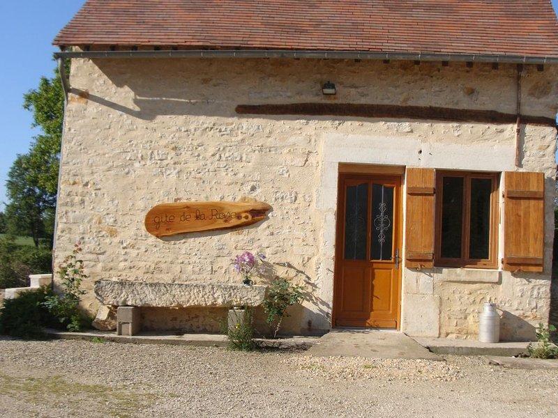 gîte de la Rose prés de Vézelay, holiday rental in Vault-de-Lugny