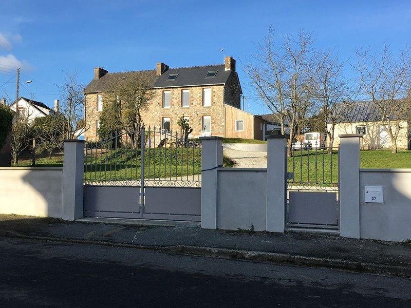 Nouveauté été 2020 - Maison de vacances à proximité du lac de Guerlédan, location de vacances à Saint-Aignan