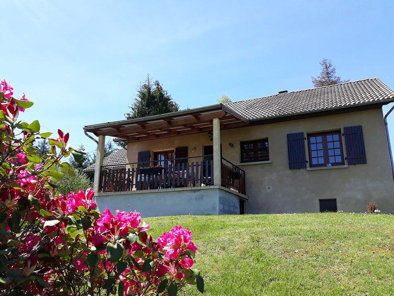 Vacances proche lacs et Monts d'Auvergne, holiday rental in Margerides