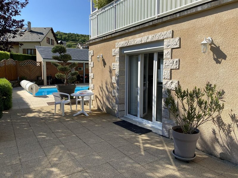 Au coeur du Gévaudan  : Appartement 2 pers. tout confort, plain pied., holiday rental in Saint-Alban-sur-Limagnole