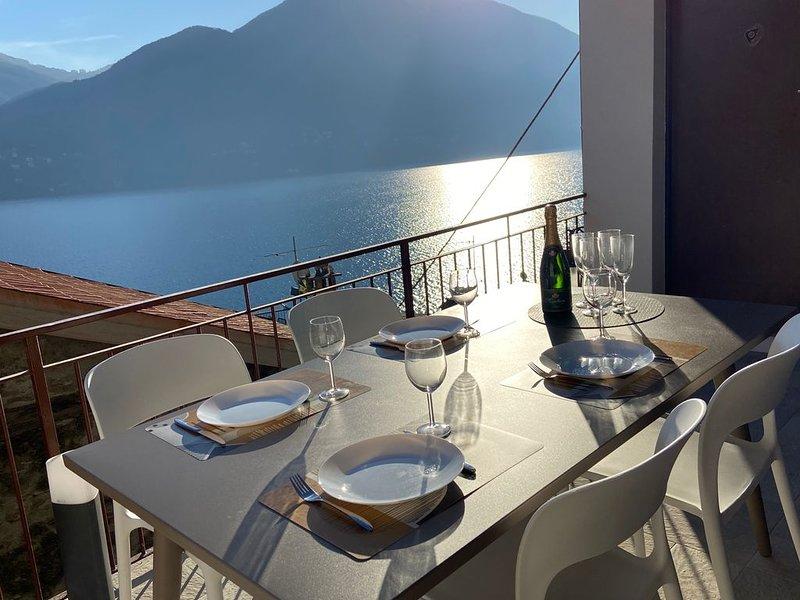 Magnifique appartement avec vue exceptionnelle !, vacation rental in Schignano
