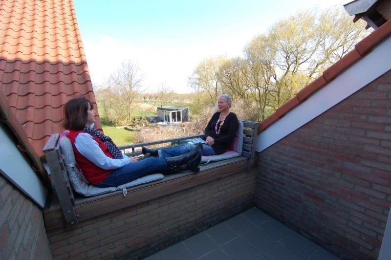 Ferienwohnung Wissenkerke für 1 - 5 Personen mit 2 Schlafzimmern - Ferienwohnung, alquiler vacacional en Geersdijk