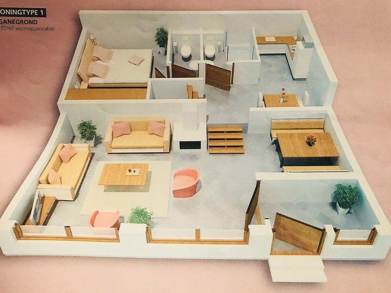 Ferienhaus Kirchheim für 1 - 6 Personen mit 3 Schlafzimmern - Ferienhaus, vacation rental in Fulda