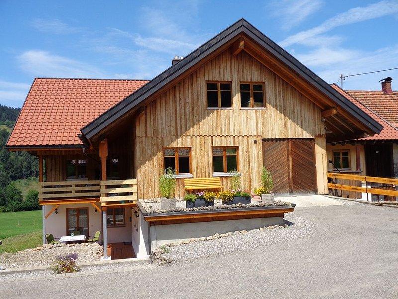 Ferienwohnung Oberstaufen für 1 - 4 Personen mit 2 Schlafzimmern - Ferienwohnung, holiday rental in Balderschwang