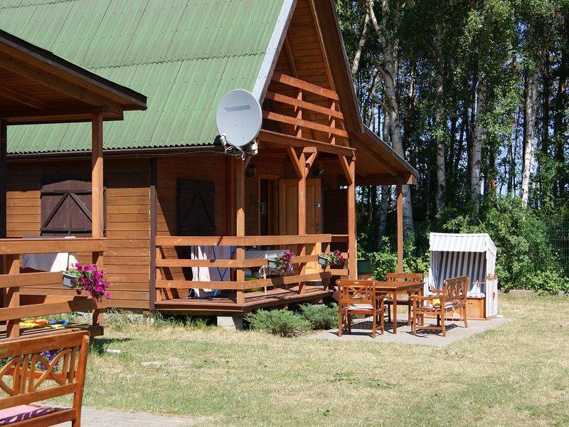 Ferienhaus Sarbinowo für 1 - 6 Personen mit 2 Schlafzimmern - Ferienhaus, location de vacances à Ustronie Morskie
