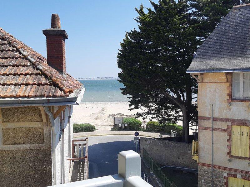 Villa vue Mer, les Pieds dans le sable !, holiday rental in Le Pouliguen