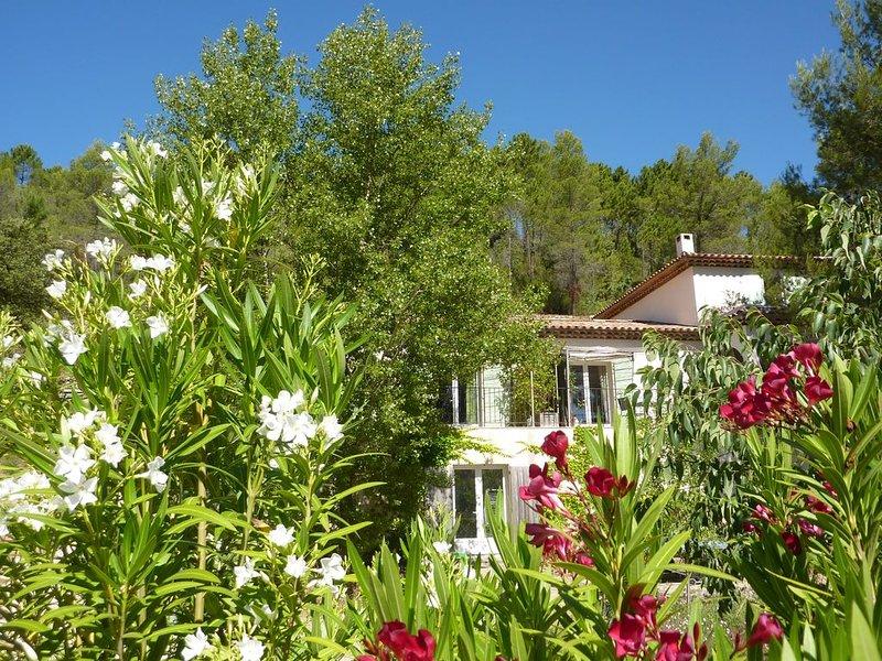 LAVANDE  avec Piscine - gite 1er village Bio - jas de roucas, location de vacances à Correns