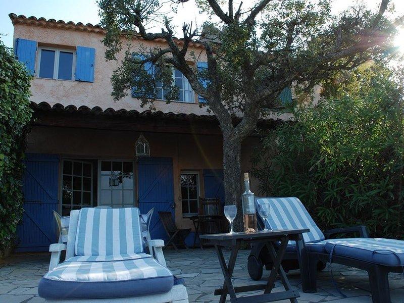 GIGARO - MAS D'ANGLE VUE MER, location de vacances à La Croix Valmer