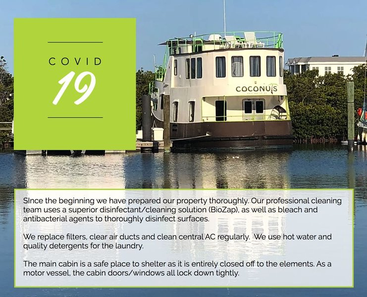 Houseboat in Key West Marina, holiday rental in Stock Island
