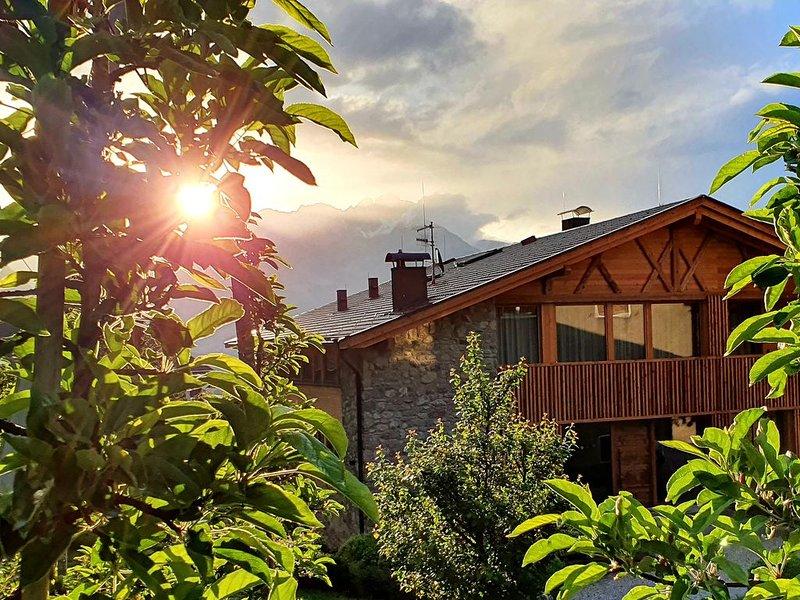 Bergfuir - Erlebnisurlaub auf dem Biobauernhof in uriger Scheune, Ferienwohnung in Ultimo (Ulten)