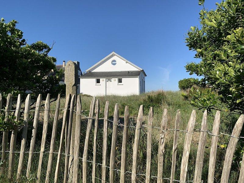 La Perle des Oyats - Vue  mer panoramique - Maison sur la dune, location de vacances à Plogonnec