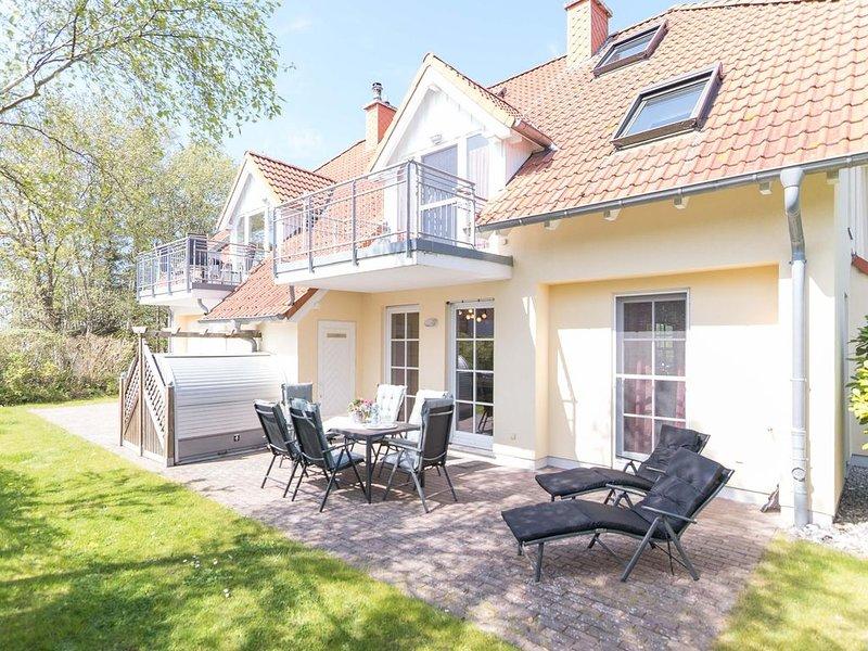 Erdgeschoss-Wohnung SO6 im Haus Strandoase im Ostseebad Wustrow, holiday rental in Saal