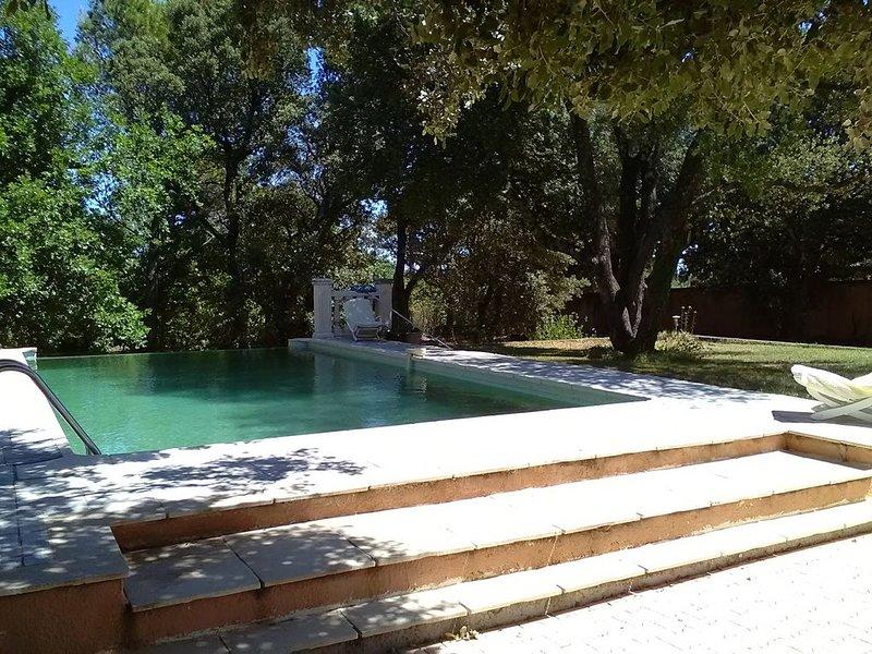 Maison en Drôme Provençale, location de vacances à Suze-la-Rousse